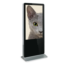 Vertical monitor lcd 42 inch all-in-one computer tv stand advertising