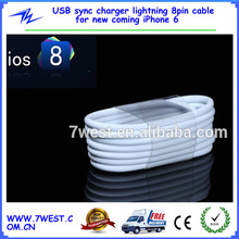 USB Sync Charger for Lightning 8pin Apple IOS8 iphone6 Cable
