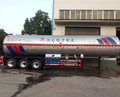 High quality 58 CBM liquefied petroleum gas 3-axle LPG semi trailer