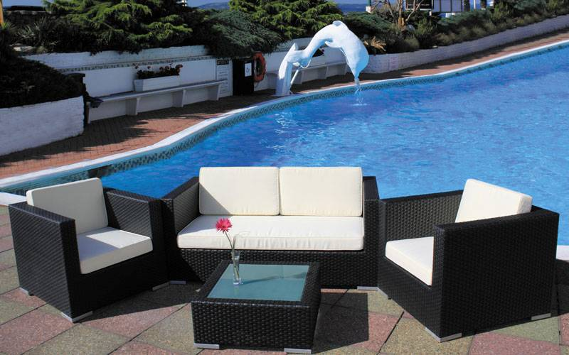 2014 new pe rattan stackable outdoor furniture FS-3035