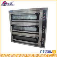 Bread bakery equipment is used for baking all the bread pastry in china