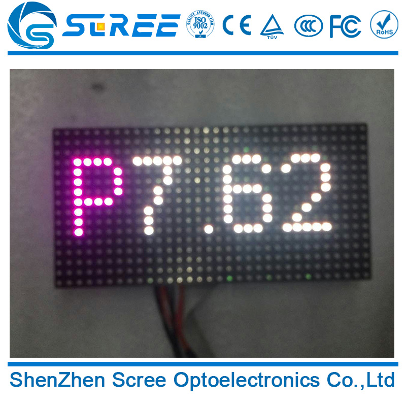 Large screen indoor p7.62 led display 7.62mm smd indoor led screen module panel with low price