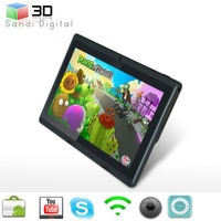 best selling 2013 7inch laptop allwinner A13 ultrathin capacitive touch screen tablet pc