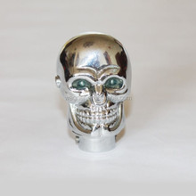 LED Light Skull Gear Shift Knob For Universal Automatic
