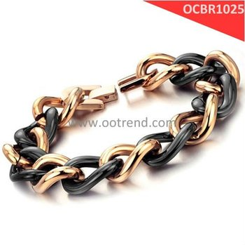New Arrivals black ceramic bracelets,brand new rose golden ceramic bracelets,new style women bracelets