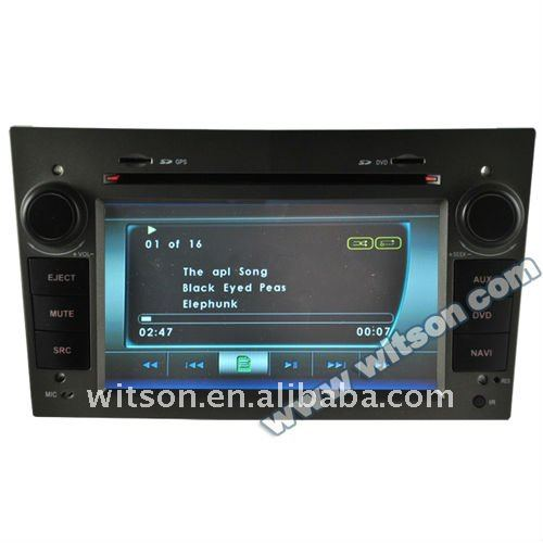 WITSON opel vectra car stereo with USB port and iPod ready