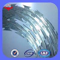 Cheap! !! Hot dip/ Electric galvanized Double Twist Barbed wire fencing real factory in Anping