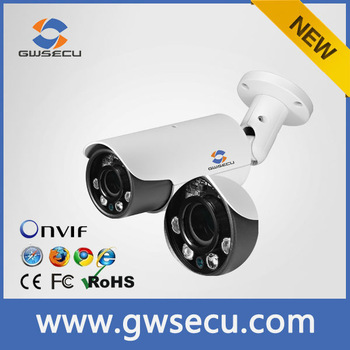 GWSECU full hd 1080P onvif 2mp ip camera poe IP network Camera p2p camera