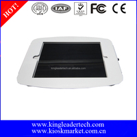 Super compact white security metal kiosk enclosure case for ipad mini