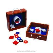 Washer box toss game,Wooden Washer Toss Game