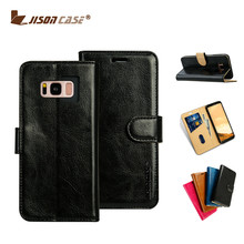 For Samsung Phone case Leather Wallet Flip case Cell phone case for S8