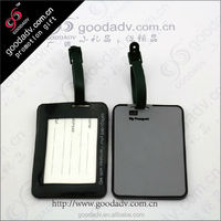 OEM wholesale eco-friendly travel cheap leather luggage tag