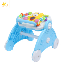 New model pusher baby walker / simple plastic baby walker / customized 2 in 1 walker for babies