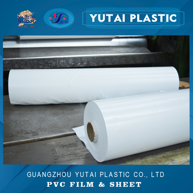 chinese cheap hot wholesale white rolled opaque pvc plastic film