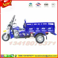 Guangzhou three wheel motorcycle factory best sale 200cc NEW KEWESAKI cargo tricycle
