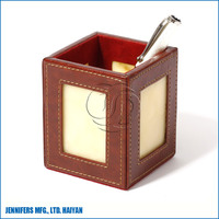 Manufacturer Supply Custom Leather Pen Holder