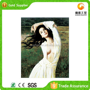 Diamond Painting Factory Resin Painting 3d Hot Sex Images Women Oil Painting