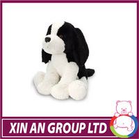 EN71/ASTM Hot selling good quality soft black and white dog