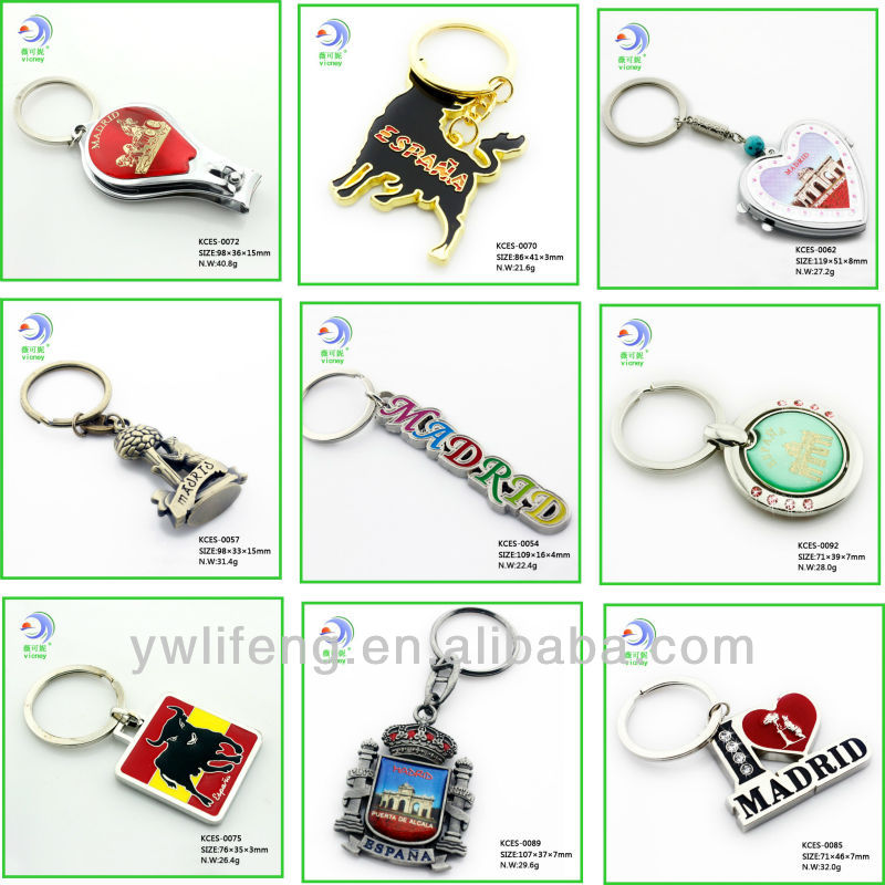 Wholesale Madrid Souvenir Custom Fancy Souvenir Products For Different Country