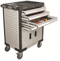 with tools car repair tool trolley for workshop