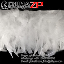 Wholesale Cheap and Good quality Dyed White Chandelle Feather Trim