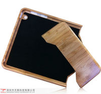 The most special two piece assembly carbonized bamboo cover case for ipad mini with package