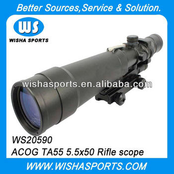 5.5x50 Illuminated Military Optical Tactical Riflescopes
