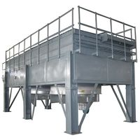 Water saving air cooled heat exchanger type dry cooling tower