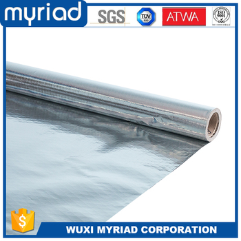 household flexible thickness aluminum foil insulation roll