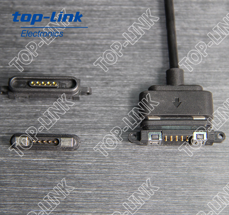 5 pin magnetic power connector