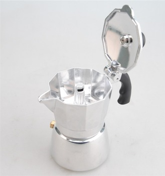 Aluminum Moka Espresso Latte Percolator Stove Top Coffee Maker Pot Fashionable Coffee Maker 6 cup