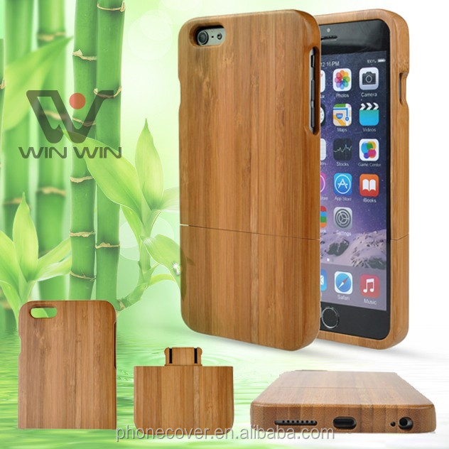 OEM custom design 2 in 1 natual blank phone case for iphone 5, for iphone 6 wooden cases