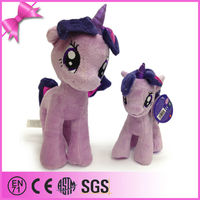 custom China purple plush unicorn soft toy