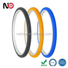 26x1.5 Colored Puncture-proof Airless Bicycle Tyres Flat Free Tire