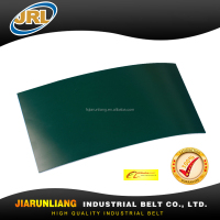 Good Quality Dark green 1.5/3/3.5/4mm PU Conveyor Belt for Processing Iron/Steel