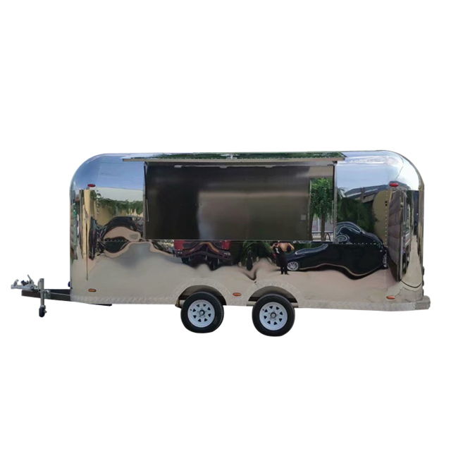 CE approved airstream food truck for sale