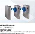 Barrier gate for entrance rfid access control automatic waterproof rfid flap barrier gate
