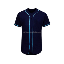 OEM wholesale promotional cheap button down custom team baseball Jerseys