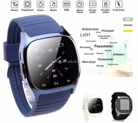 Bluetooth SmartWatch Factory wholesale Wifi Waterproof M26 Smart Watch For Android IOS phone
