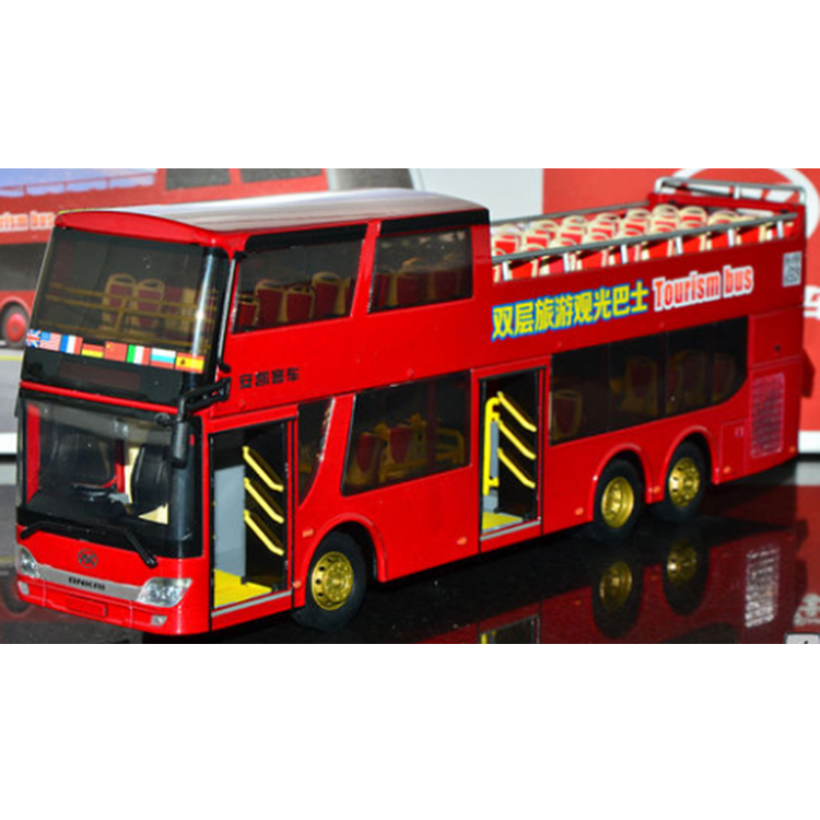Manufacturer Supplier diecast 1 43 bus model made in China