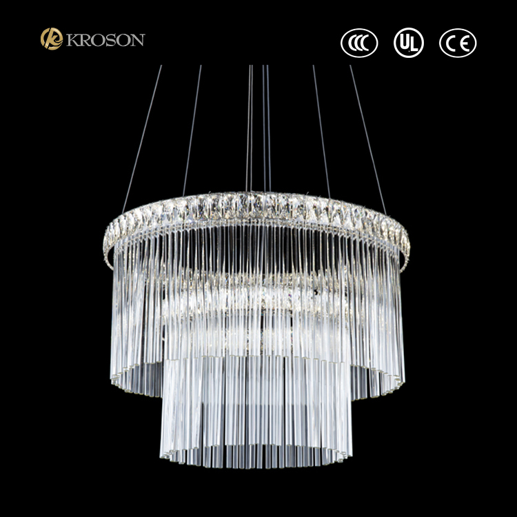 Decorative hanging Modern LED crystal chandelier Lighting for wedding