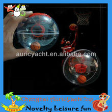 tabletop mini basketball game with light