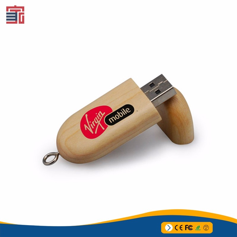 promotional gift cheap bulk wood 1GB 2GB 4GB 8GB 16GB usb flash drives