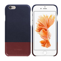 Mobile covers leather phone case custom for iphone 6