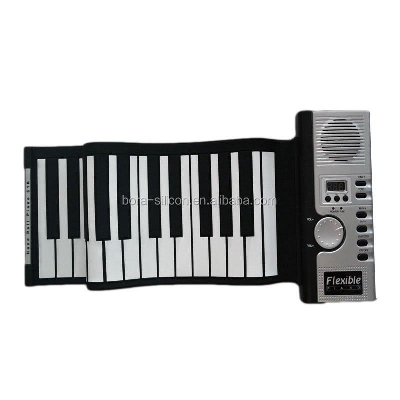 electronic keyboard professional music instrument 61 keys flexible piano