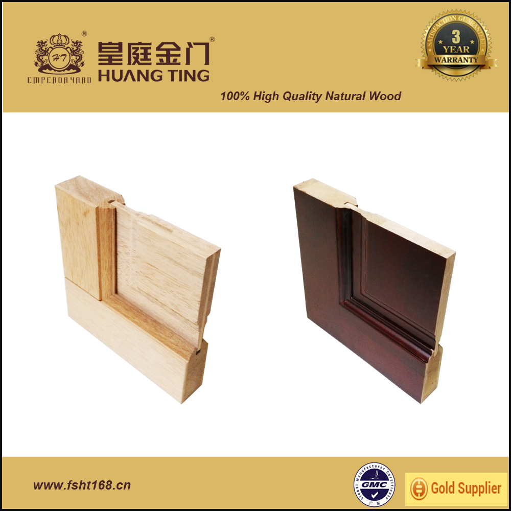 Made in china high grade solid core wood interior door