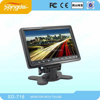 7'' LCD VGA 12V Super TV Monitor