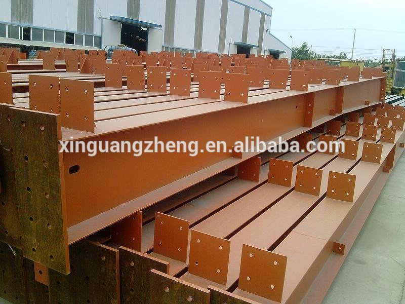 Temporary Used Low Cost Structural Steel Prefabricated Quick Build Warehouse