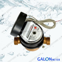 China wholesale Dry Liquid Sealed and Wet Type Vane Wheel Single Jet Water Meter