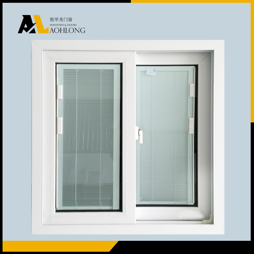 Sliding window price philippines PVC/UPVC residential windows office window